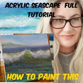 Acrylic Seascape Tutorial